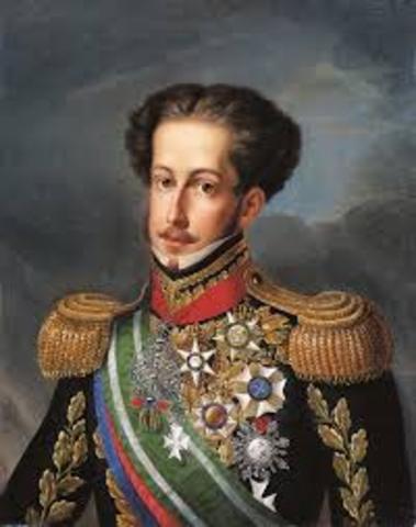 D. Pedro é aclamado imperador do Brasil