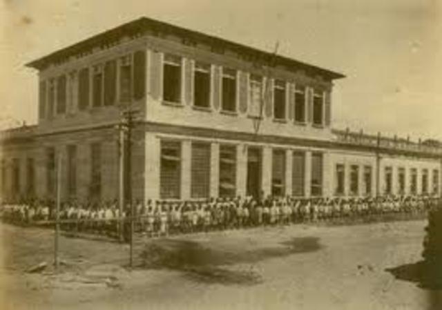 Fundação das escolas