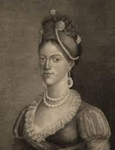 Morte da rainha viúva D. Carlota Joaquina