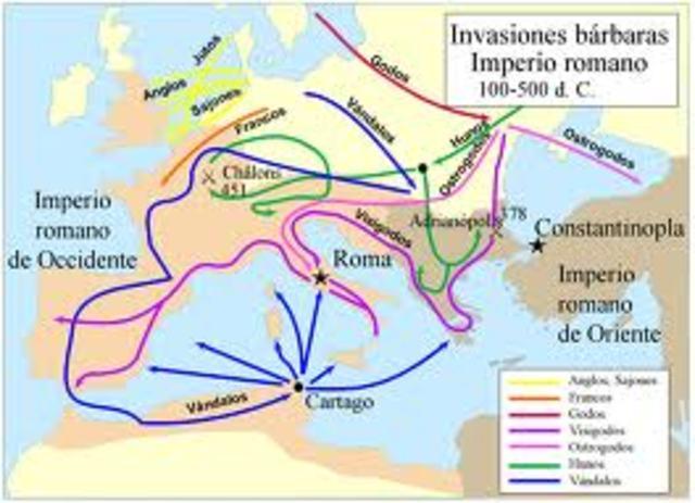 SIGLO X D.C Caida del imperio romano