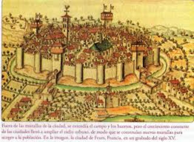 surgimiento de ciudades en europa siglo X- XV