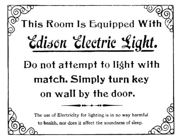 Funda la Edison Electric