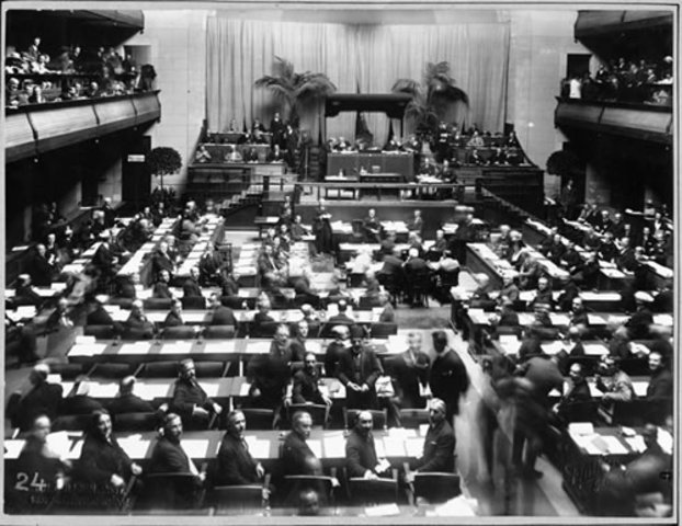 Principles that guided the negotiators of the Versailles Treaty