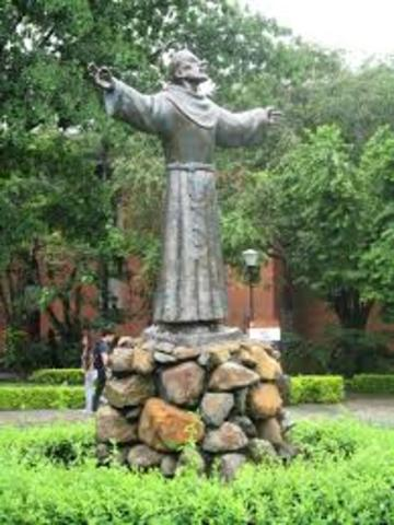 Fundacion del Colegio San buena Ventura