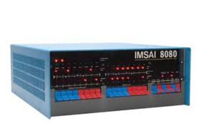 Lançado o  IMSAI8080