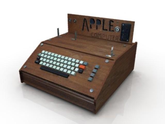 Lançado o Apple I