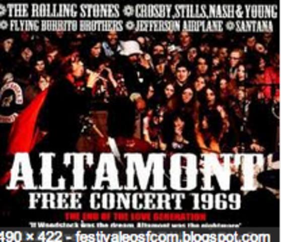 Concert a Altamont