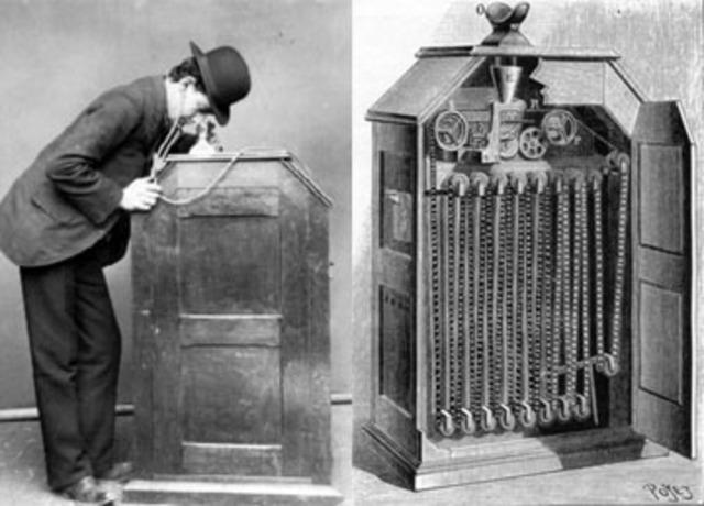 Inventa el Kinotoscope