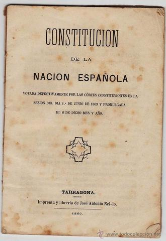 The Constitution of 1869