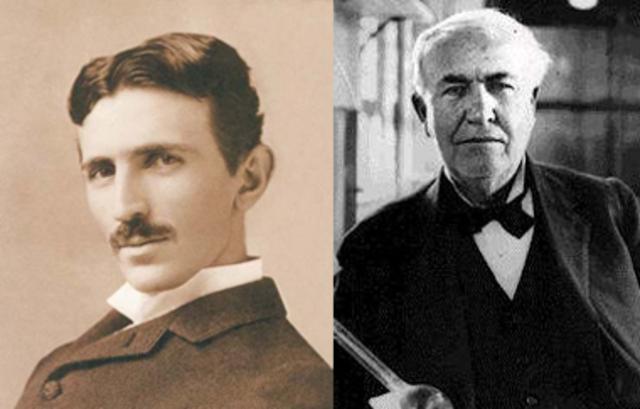 Rivalitat entre Edison i Tesla