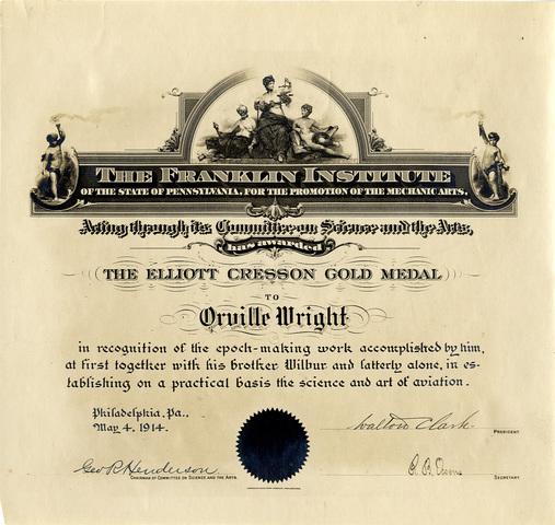 Medalla d'Or Elliott Cresson