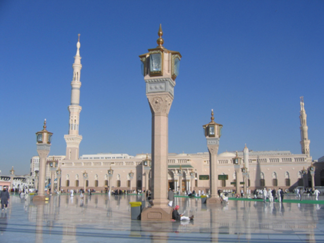 Mohammed and his followers flee to Medina
