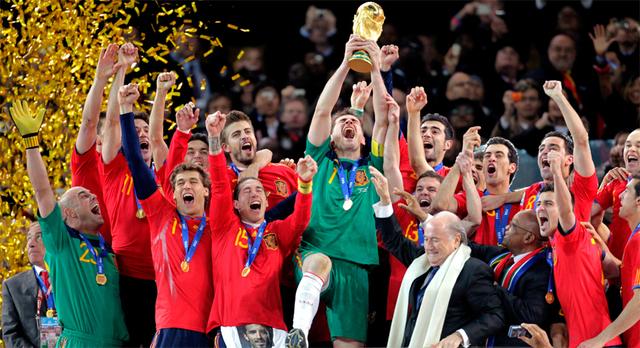 La selección Española de fútbol gana el primer Mundial