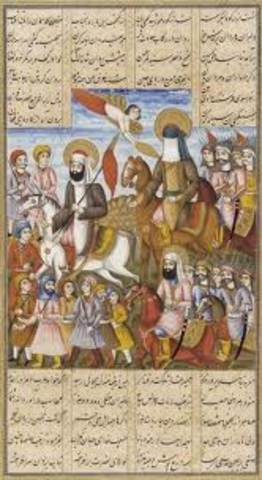 Mohammed conquers Mecca