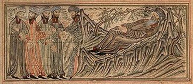 Death of Mohammed