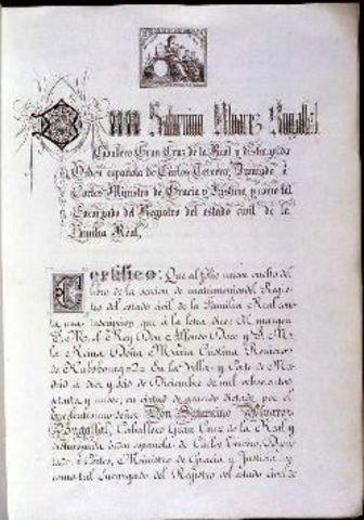 V Spanish Constitution