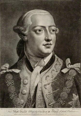 King George III takes power