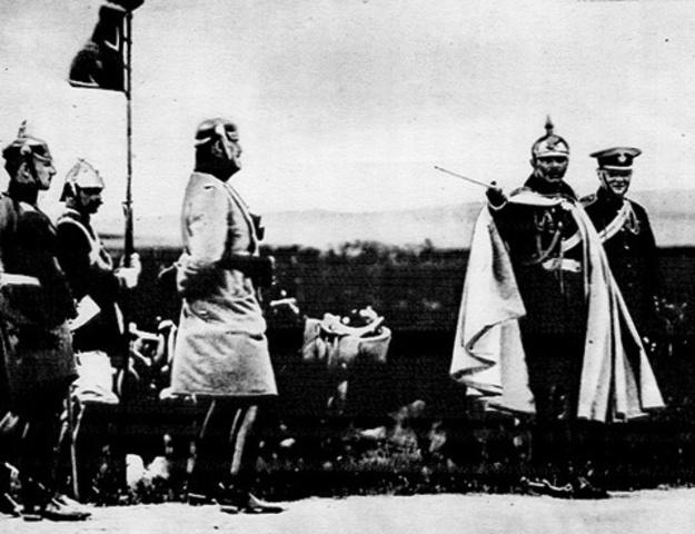 Italy declares war to Austria Hungary