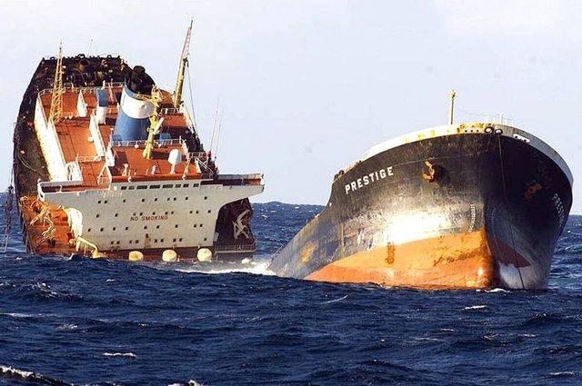 Catastrofe del petrolero Prestige en Galicia