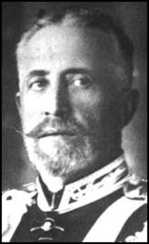 Grand Duke Nikolai sacked as Commander-in-Chief
