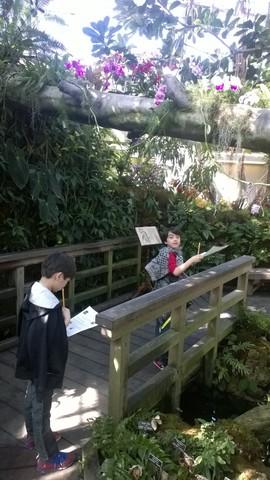 Botanic Gardens 3rd grade trip!