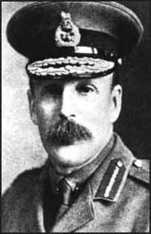 Sir Frederick Maude dies in Mesopotamia