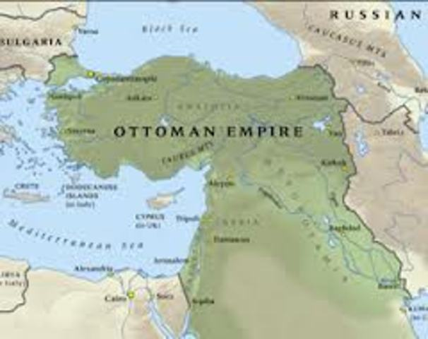The Ottoman Empire joins the war