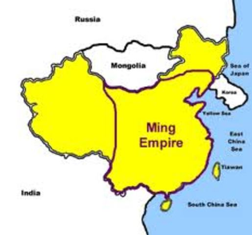 Ming decline late 1500s