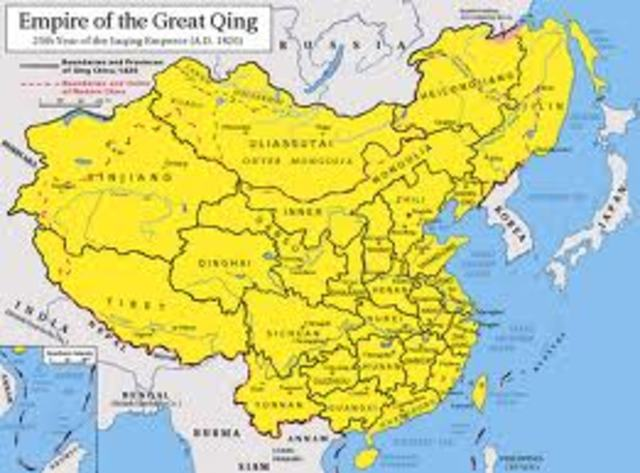 First Qing Leader