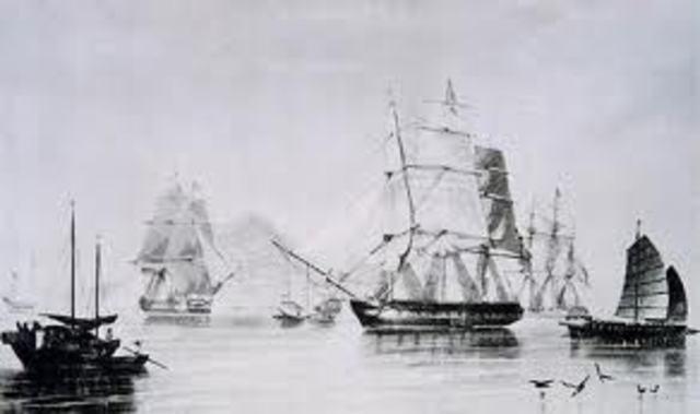 Opium Trade Began