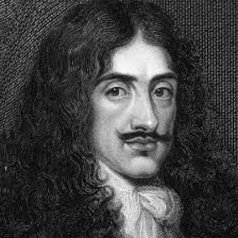 Charles ii takes over