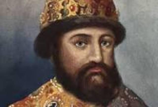 Michael Romanov becomes Czar