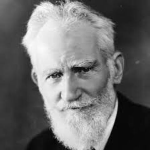 George Bernard Shaw's Birth
