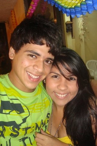 My girlfriend and me!!