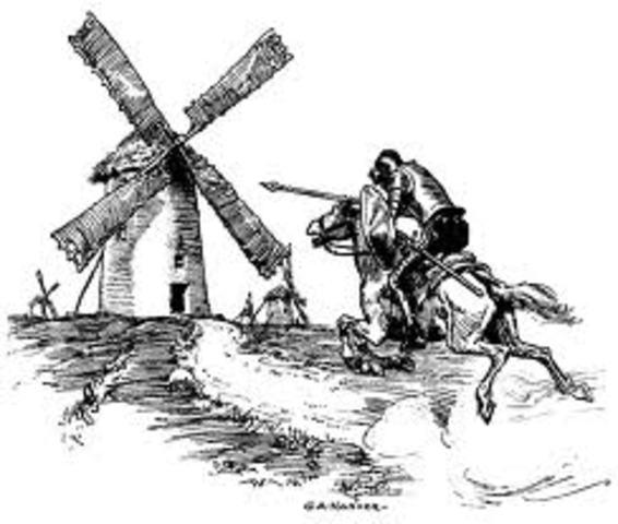 Don Quixote de La Mancha was published by Miguel de Cervantes
