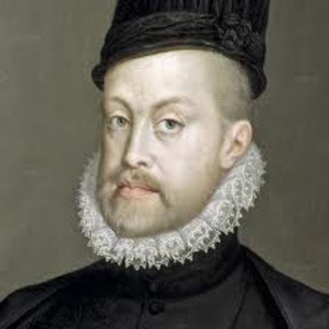 Phillip II becomes king