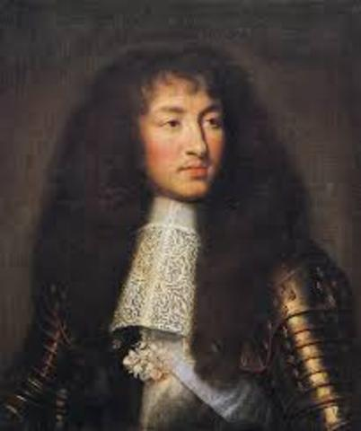 Louis XIV takes control of the government