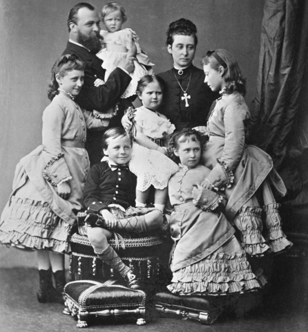 Marriage of Princess Alice & Prince Louis of Hesse