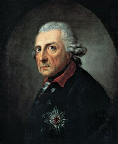 Frederick the Great attacks Saxony