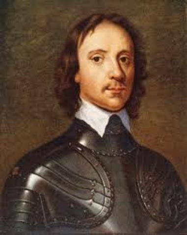 Oliver Cromwell, leader of the Puritan Parliament, dies