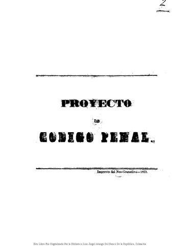 Código Penal Federal de 1871