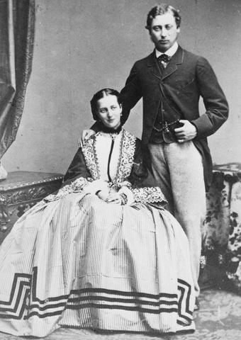 Bertie engaged to Alix - Alexandra, Princess of Denmark