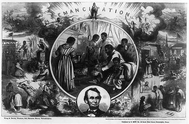 Slavery Abolished by 13th Amendment