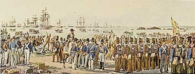 Entrada no Porto do exército liberal