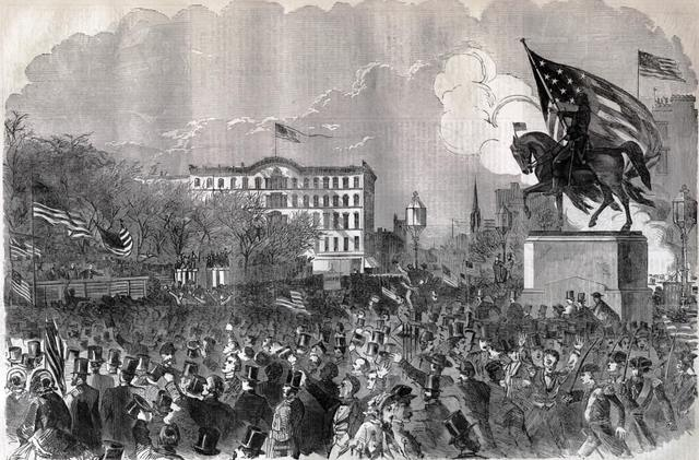 The Great Sumter Rally in Union Square