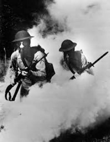 Poison Gas is first used