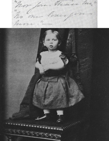 Death of Prince Sigismund - Vicky's fourth Child; the first of the Queen's grandchildren to die