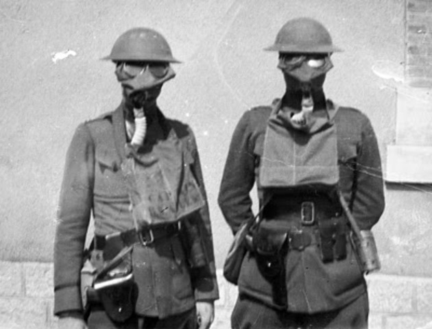 Poison Gas First Used in World War 1