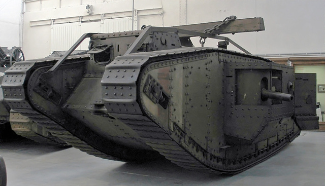 Tanks First Used