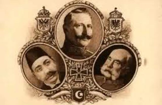 The Ottoman Empire joins the Central Powers
